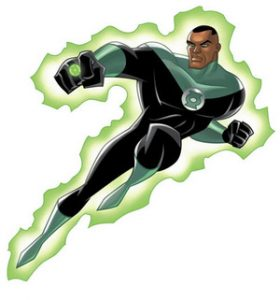 Green Lantern. The ring is a weapon of the mind and powered by will. | Cmaunei Kids